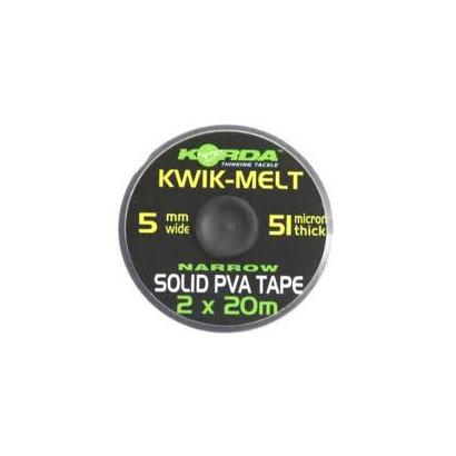 KORDA KWIK-MELT Nastro PVA 5mm. 2X20 mt.