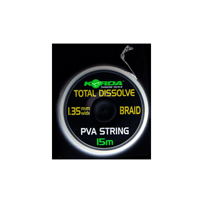 KORDA TOTAL DISSOLVE FILO PVA 1.35mm.  15 mt.