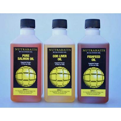 BULK FOOD OIL 500 ml.(Winterised Pilchard oil - Herring oil - Sardine oil)