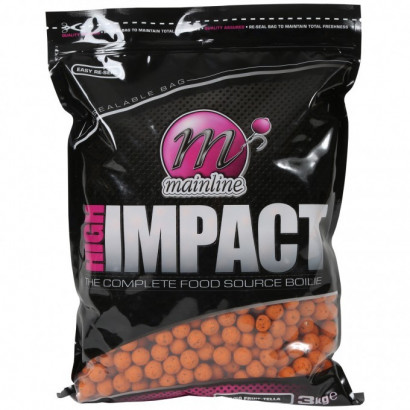 MAINLINE HIGH IMPACT BOILIES 15 mm. 3 kg.