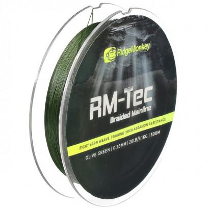 RM-Tec Mainline Braid 300mt 20/30 lb