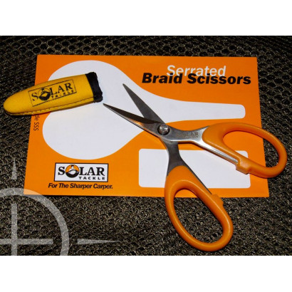 SOLAR Serrated Braid Scissors