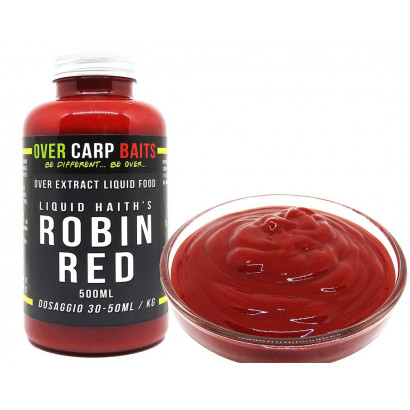 OCB LIQUID FOOD ROBIN RED 500 ml.
