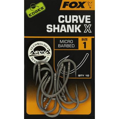 FOX EDGES CURVE SHANK X N. 1/2/4