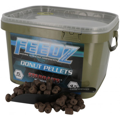 STARBAITS	FEEDZ DONUTS 10/15/20/25 mm. 4,5 kg.