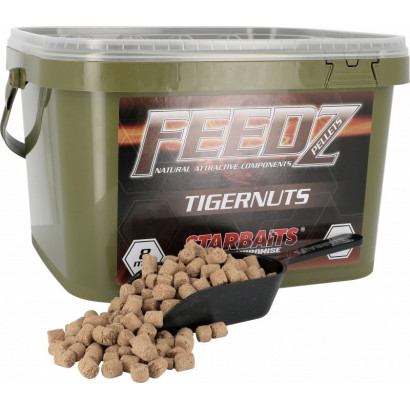 STARBAITS FEEDZ PELLETS TIGERNUT 8 mm. 4 kg.