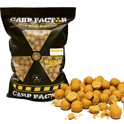 CARP FACTOR PRO BAITING BANANA 5 kg. 20 mm.