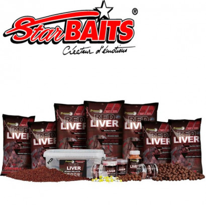 RED LIVER BOILIES 1 KG. 15/20/24 mm.