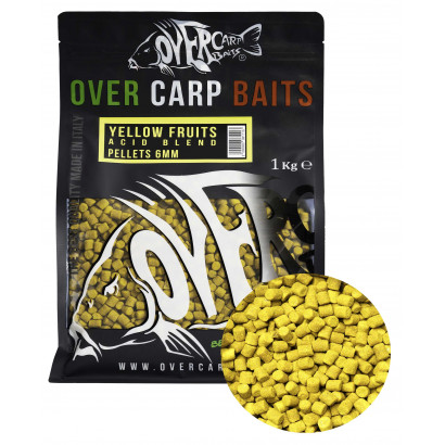 HIGH ATTRACT PELLETS 6MM 1 kg. YELLOW F.